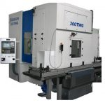 Grinding machine for gears with automatic loader